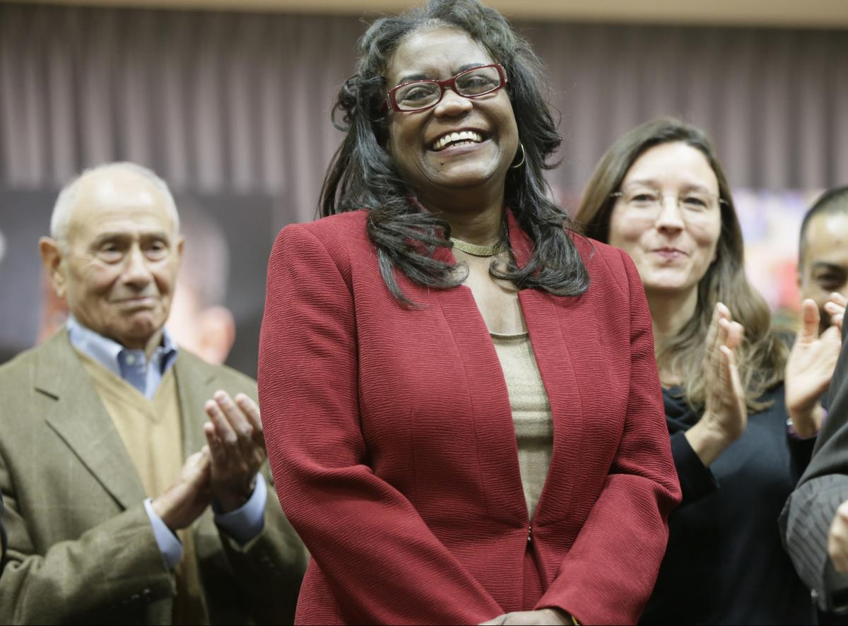 """Why she's Walker's Legacy: With few African-American leading education in California, Michelle King definitely stands out. Having been educated in the in L.A. Unified schools and spending her entire career there starting in 1978, when she took a job as a student aide. there was no better choice. King is breaking ground with  2.6 percent of superintendents in the 947 elementary, high school and K-12 districts in the state being black, according to a list compiled by the California Association of African-American Superintendents and Administrators, or CAAASA. Longtime district observers have described King as someone who worked her way up quickly through management by being a team player and loyal to her superiors. And now that she has taken on this role she vows to do a """"Listening Tour"""" of campuses to get feedback about setting the right priorities and pledged to bring people together on behalf of improving schools."""