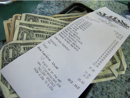 If you've got the money to spare, the next time you dine out, leave a little more than the 20 percent. Many people don't realize that most servers make less than $5.00 an hour. Not only will this server be incredibly grateful, but they'll also remember you forever and likely give great service every time thereafter.