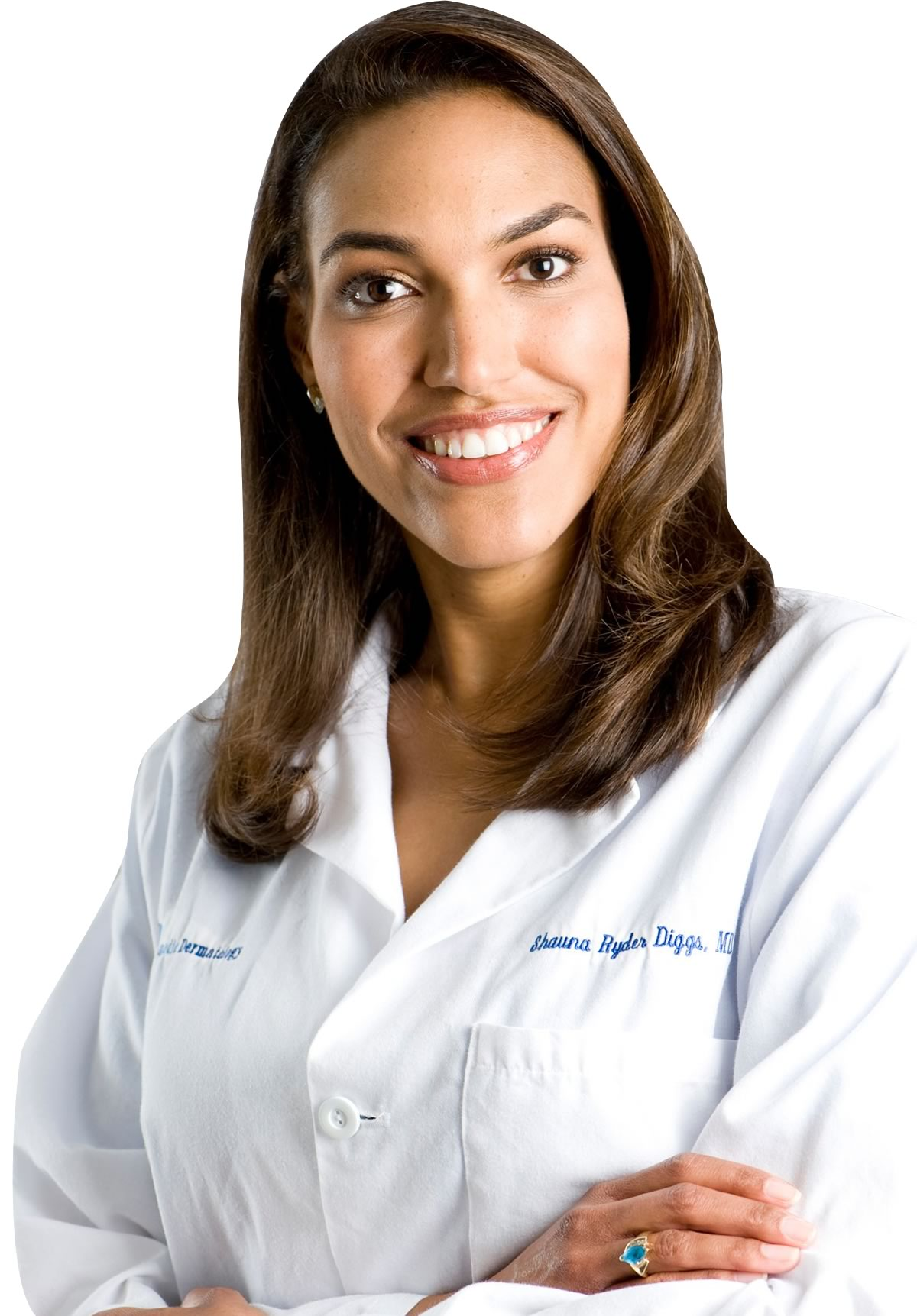 Dr. Shauna Ryder Diggs is a dermatologist in solo private practice at Cosmedic Dermatology:    Shauna Ryder Diggs, MD, PC.  She practices general, cosmetic, and laser dermatology, with over   22 years of laser dermatology experience. Dr. Diggs specializes in using the latest advancements   in dermatology for skin rejuvenation, and has created the CosmedicDerm Professional Skin Care   product line which maintains youthful, clear, vibrant skin.  Dr. Shauna Ryder Diggs is a graduate of the University of Michigan Inteflex Program with its   combined seven year medical school and undergraduate education.  She then advanced to her   Internal Medicine Internship at the University of Michigan Medical Center in Ann Arbor.  Her   specialty training was completed at the University of Michigan Dermatology Residency program,   where she developed expertise in autoimmune, infectious, benign and malignant dermatoses.  She   participated in basic science research on psoriasis studying the maturation of psoriasis involved   cells.  Dr. Diggs is a board certified dermatologist of the American Board of Dermatology, and a   fellow of the American Academy of Dermatology and the American Society of Dermatologic   Surgeons and a member of the Michigan Dermatological Society.  She has been a lecturer at the   University of Michigan Medical School to second-year medical students as well as the Dental   School, teaching in the dermatology modules.