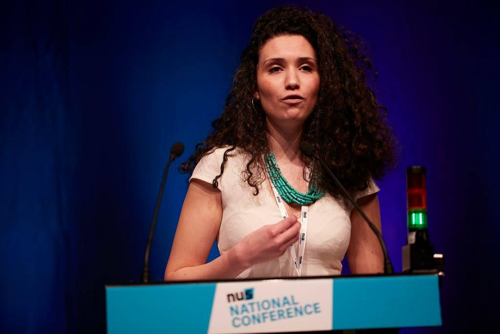 Malia Bouattia is the first elected UK's National Union of Students (NUS)  President who is a black female Muslim. Bouattia won by 44 votes against the current president, Megan Dunn. NUS which strives to make a difference for the lives of students and their members by defending their  rights through fighting discrimination and injustice.