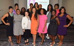 Expert Panelists and Founder and CEO of Walker's Legacy, Natalie Cofield, pose for a group photo