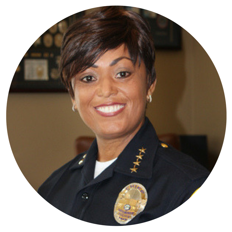 Chief Seabrooks began her career at SMPD as its first African-American woman patrol officer in 1982. When she became chief of the Inglewood Police Department in 2007, she made history again as California's first African-American woman to serve as police chief for a municipality. Santa Monica was fortunate to welcome back Chief Seabrooks in 2012 when she returned to her roots and took the reins as chief of police.