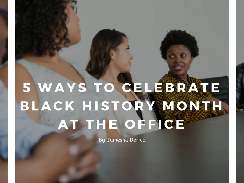 774690black history month at work in office